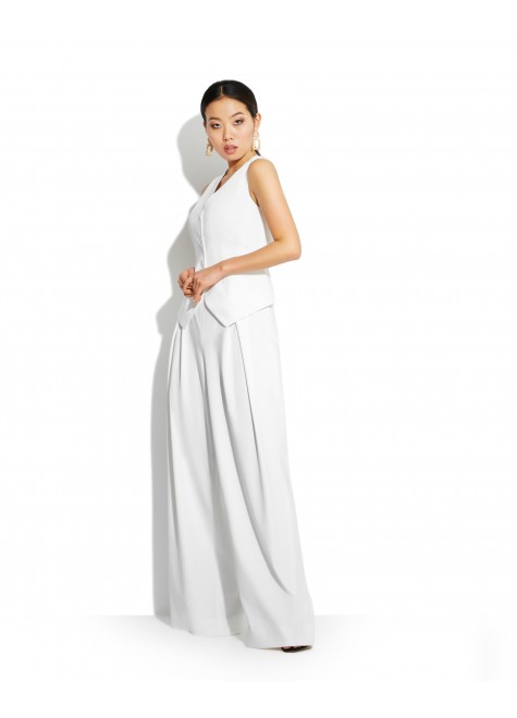 VEST WITH PALAZZO TROUSERS