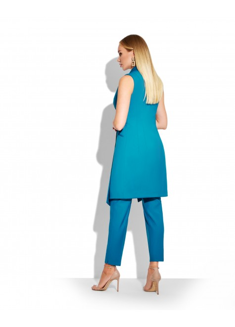 ELONGATED VEST WITH SKINNY TROUSERS