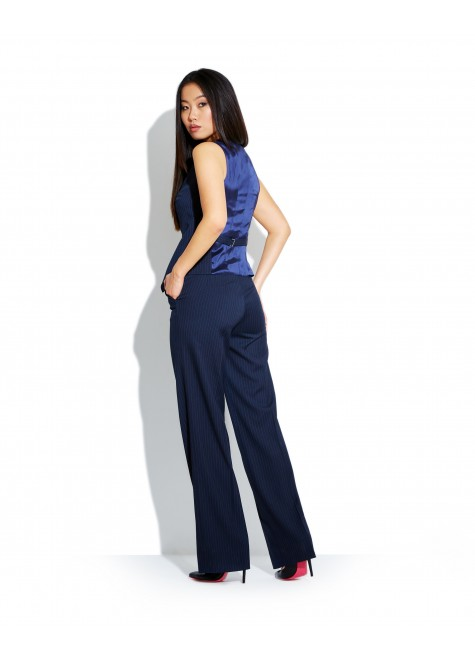 SET OF VEST AND WIDE TROUSERS