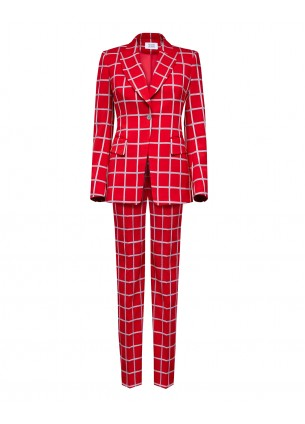 SHECKED SUIT